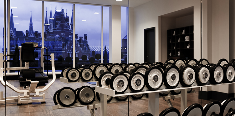 Golf fitness amenities pullman london st pancras - Best cardio equipment for small spaces property ...