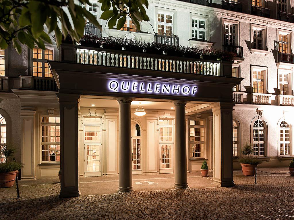 Business Hotel Aachen Quellenhof Pullman Accorhotels