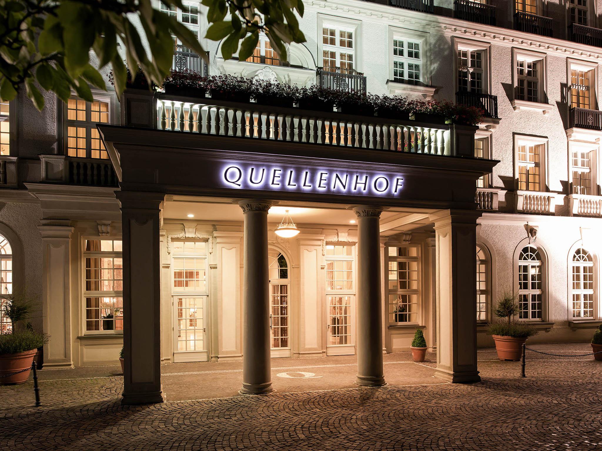 Hotel – Pullman Aachen Quellenhof