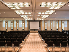 Some 1,610 m² over two floors are dedicated to hosting events