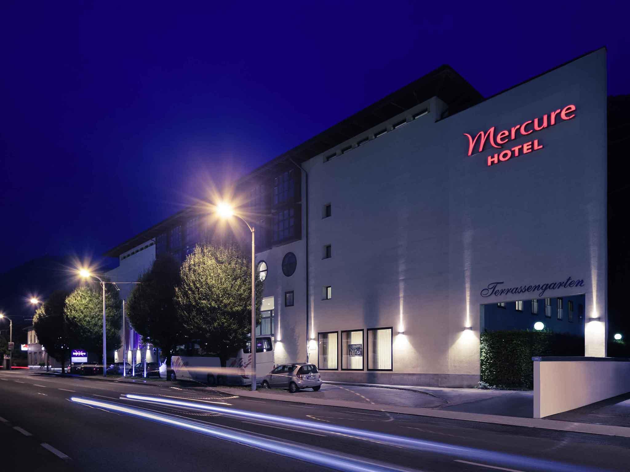 Отель — Mercure Зальцбург Центр (ранее Капуцинерберг)