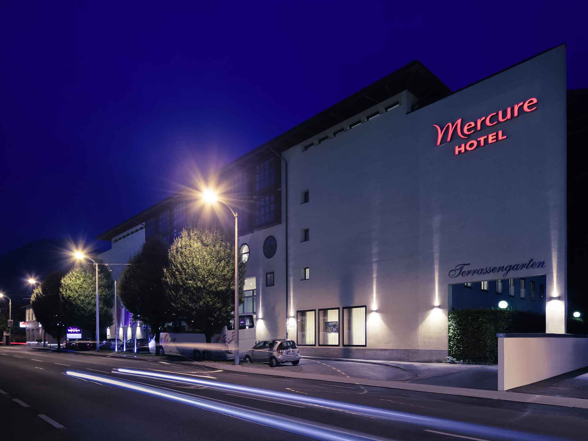 Hotel – Mercure Salzburg Central (dawniej Kapuzinerberg)