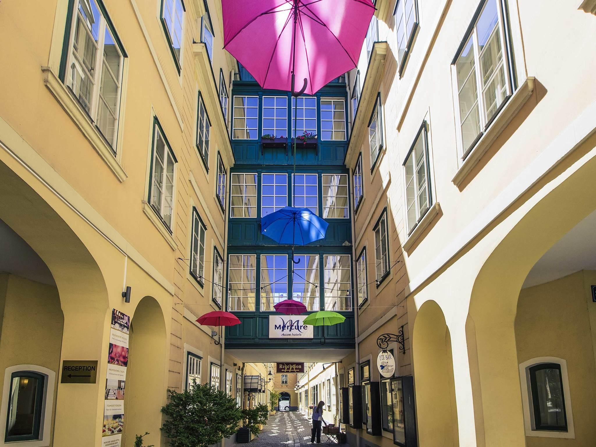 Hotel – Mercure Grand Hotel Biedermeier Wien