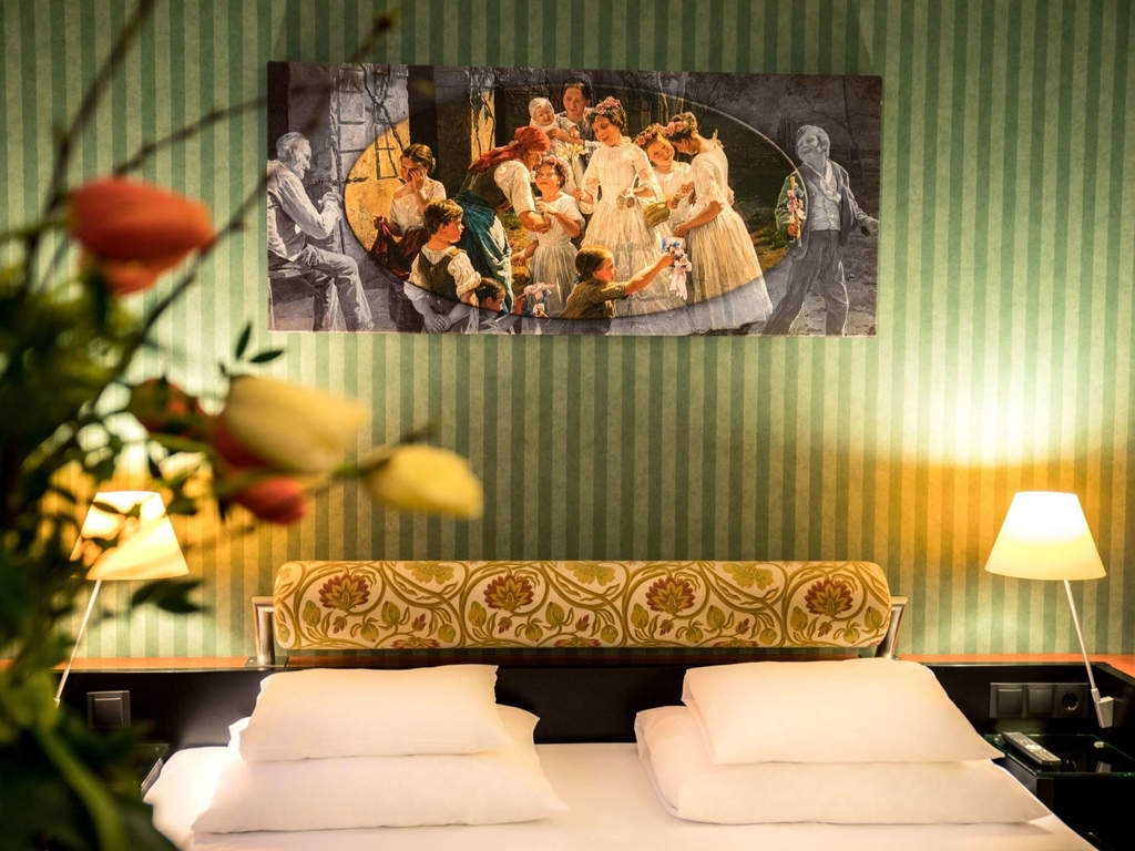 Mercure grand hotel biedermeier wien h tel vienne accor for Chambre avec lit king size