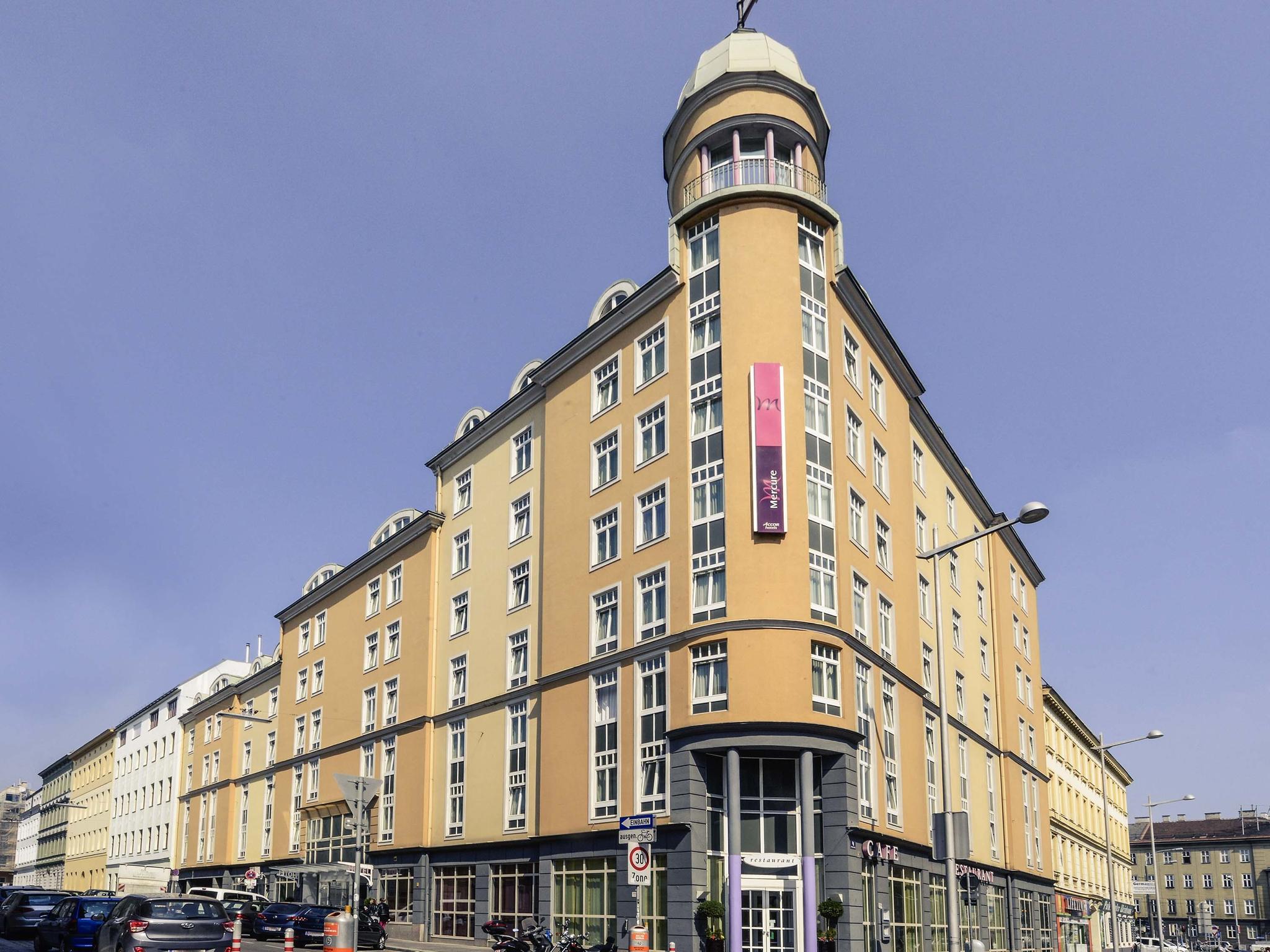 Hotell – Hotel Mercure Wien Westbahnhof