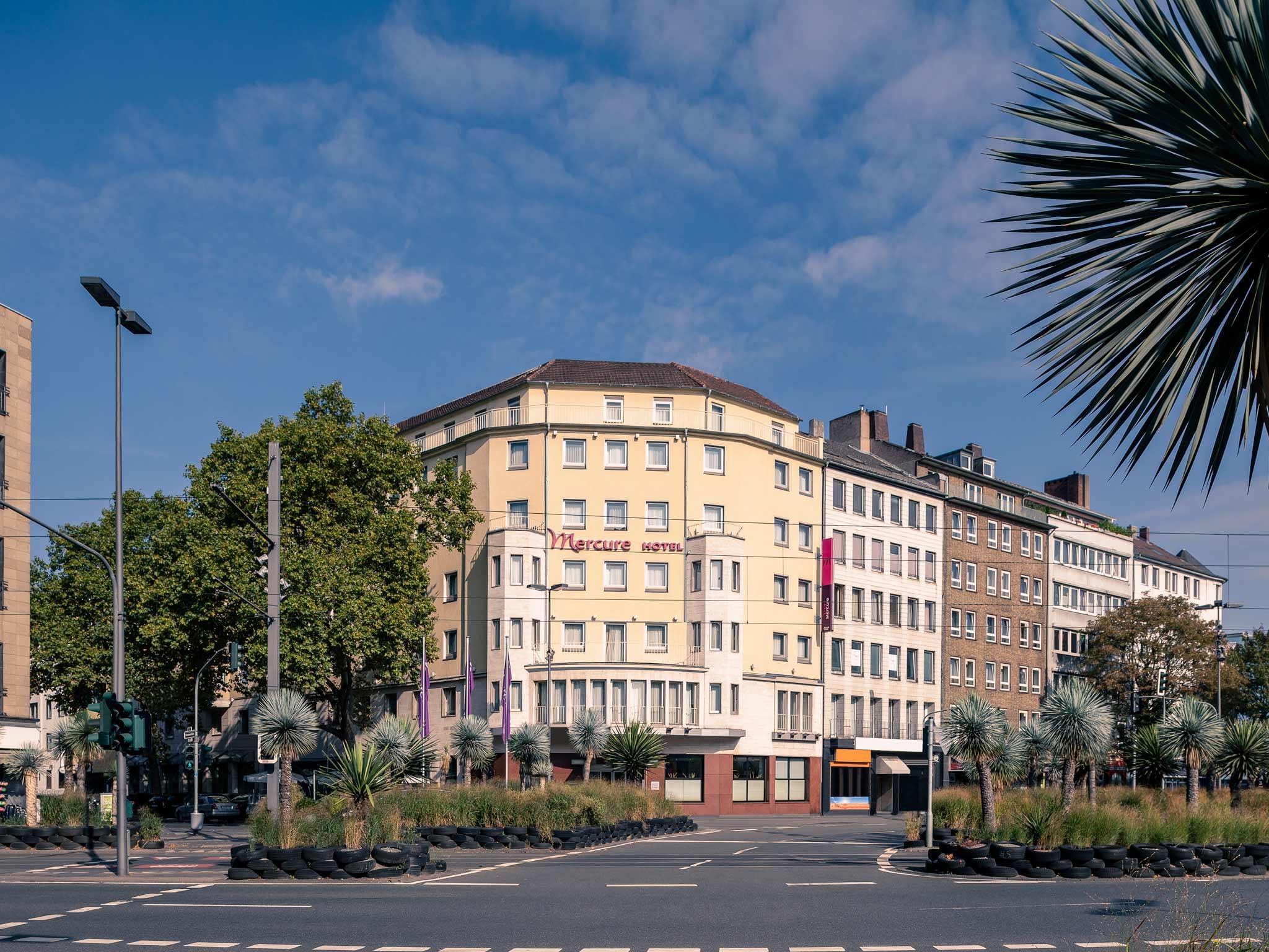 โรงแรม – Mercure Hotel Duesseldorf City Center
