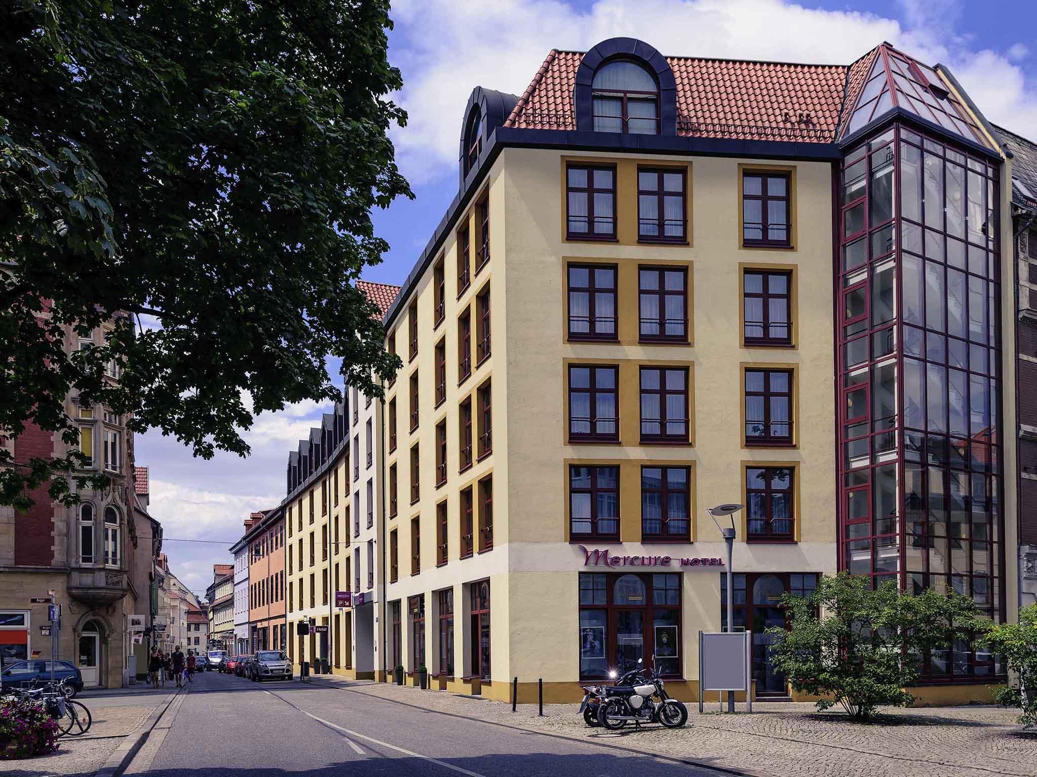 Отель — Mercure Hotel Erfurt Altstadt