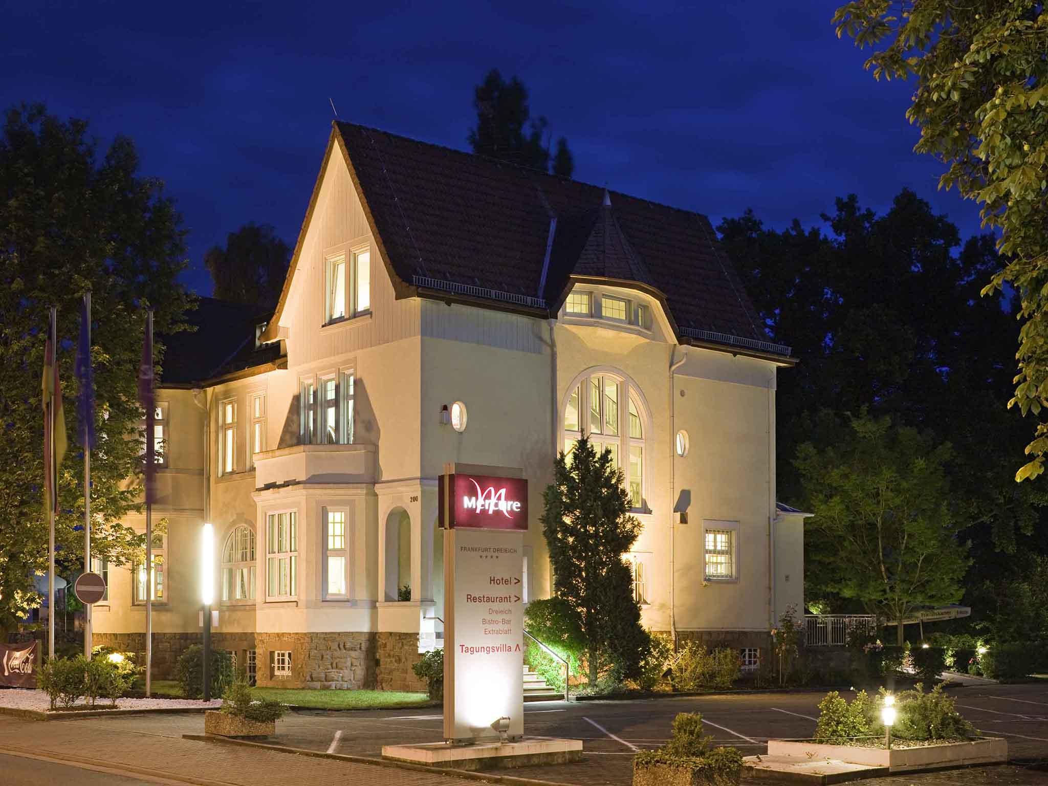 酒店 – 法兰克福德赖艾希机场美居酒店