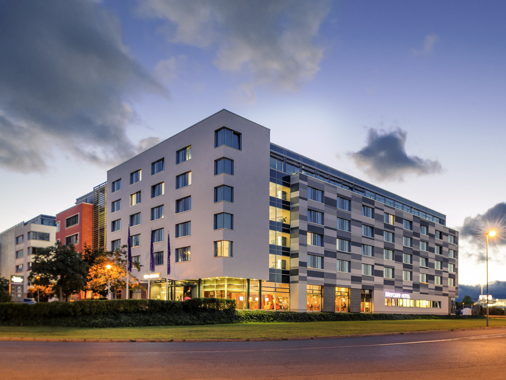 Ihr Aufenthalt im Mercure Hotel Eschborn Helfmann-Park
