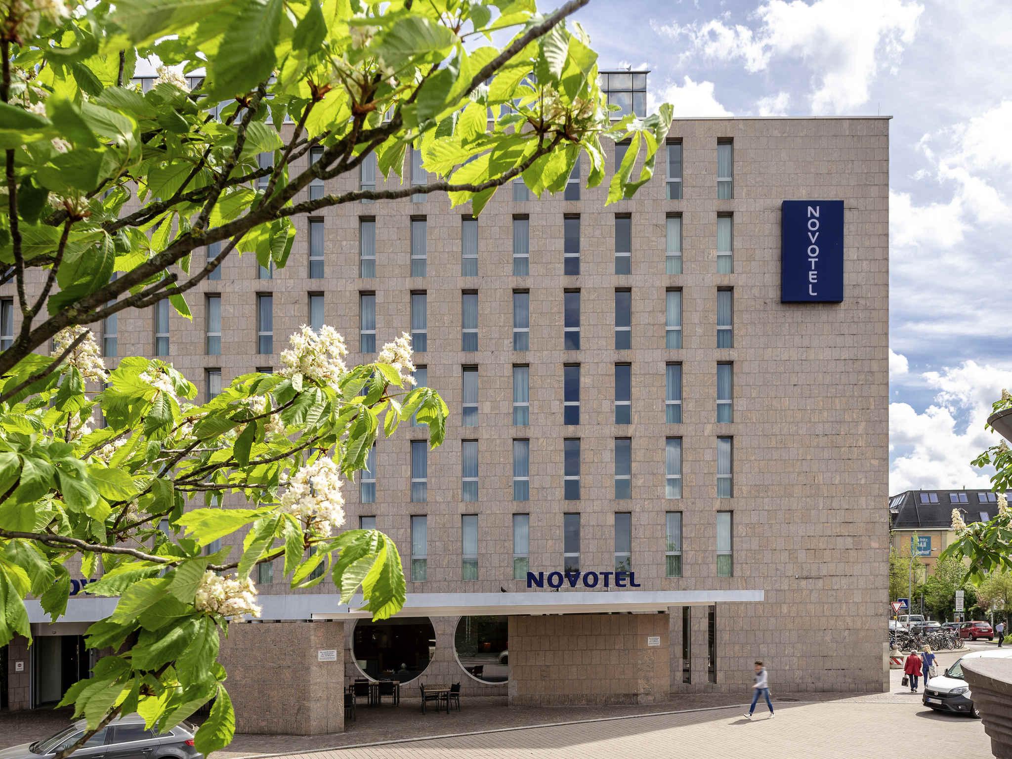 Отель — Novotel Freiburg am Konzerthaus