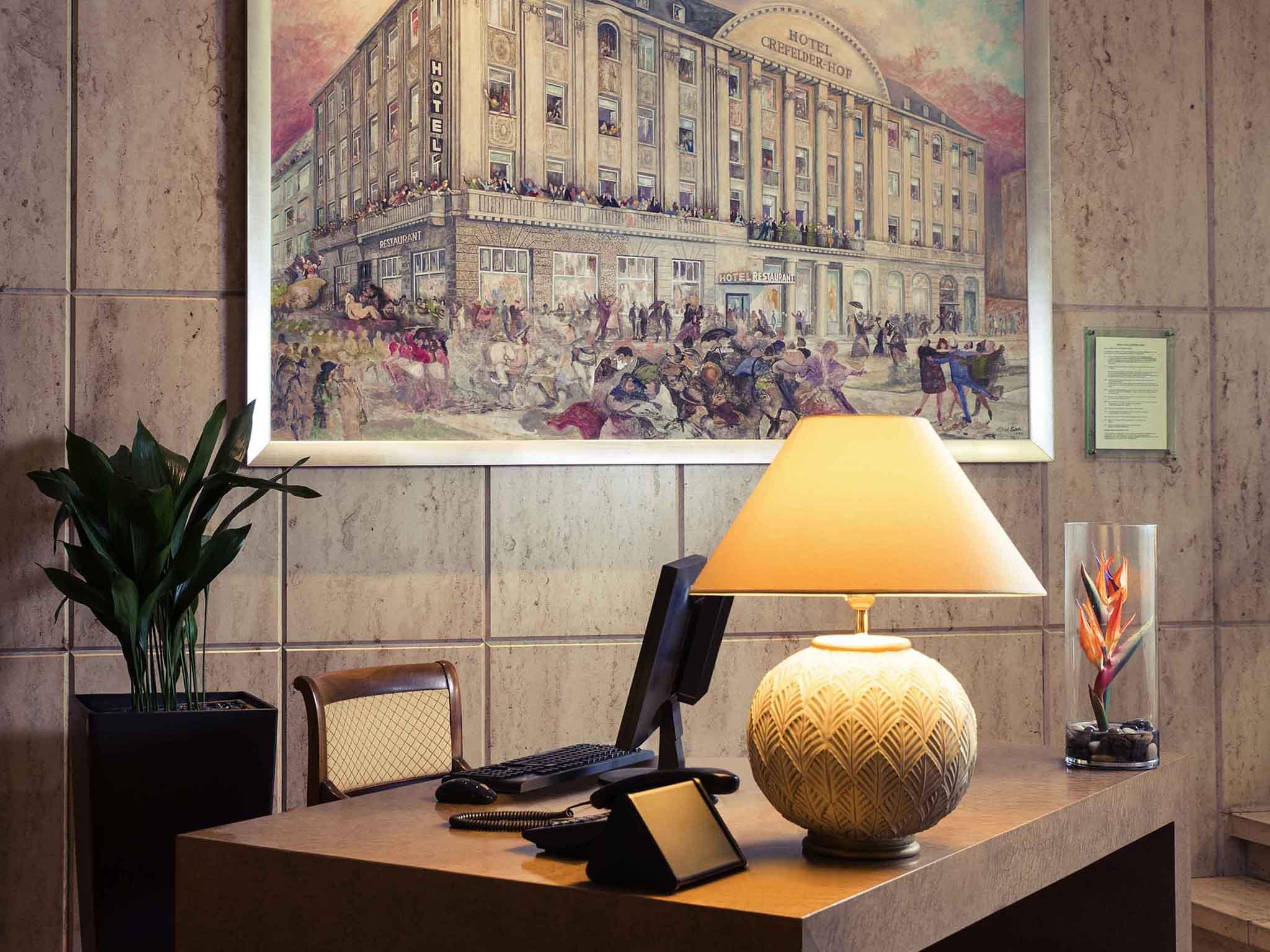 Wellness wallpaper hochkant  Hotel in Krefeld-Mercure Parkhotel Krefelder Hof