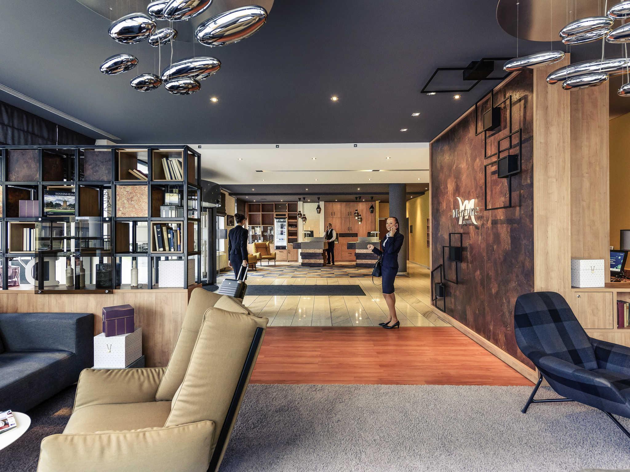 โรงแรม – Mercure Hotel Mannheim am Rathaus
