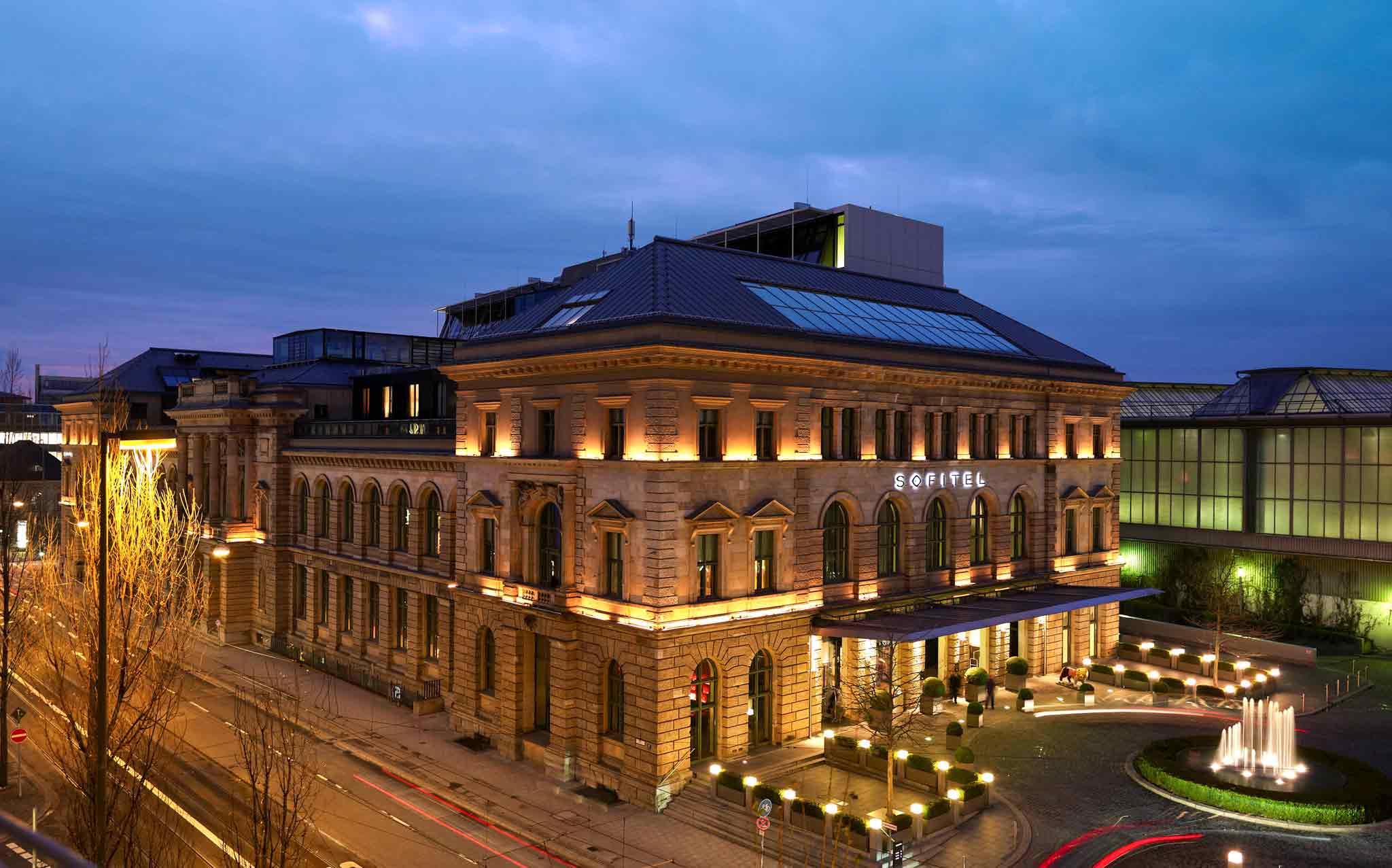 Отель — Sofitel Мюнхен Байерпост