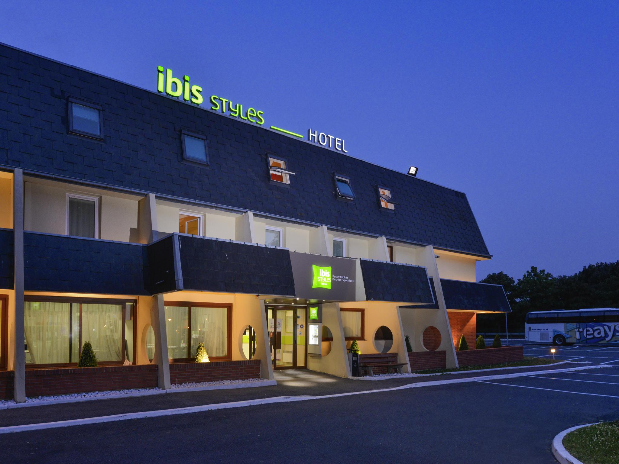 ホテル – イビススタイルズパルクデゼクスポジシオンドヴィルパント