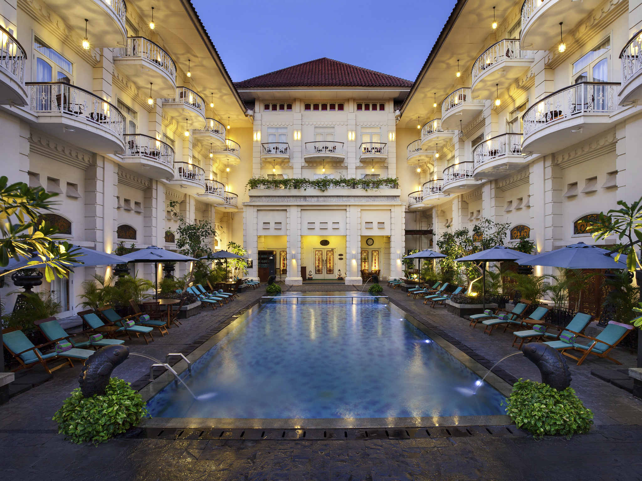 5-star hotel in yogyakarta - the phoenix hotel - accorhotels