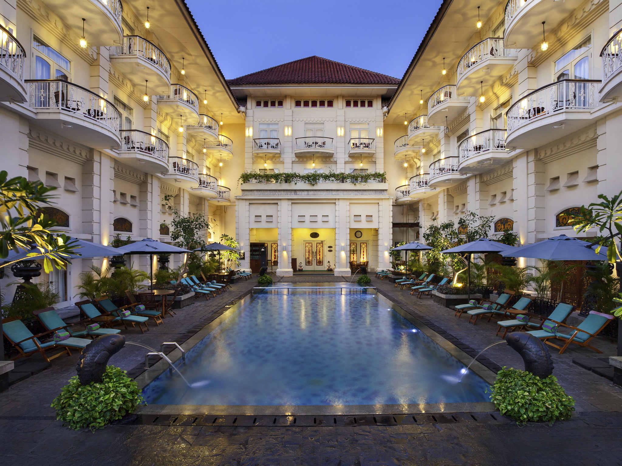 Отель — Отель Феникс Джокьякарта - MGallery by Sofitel
