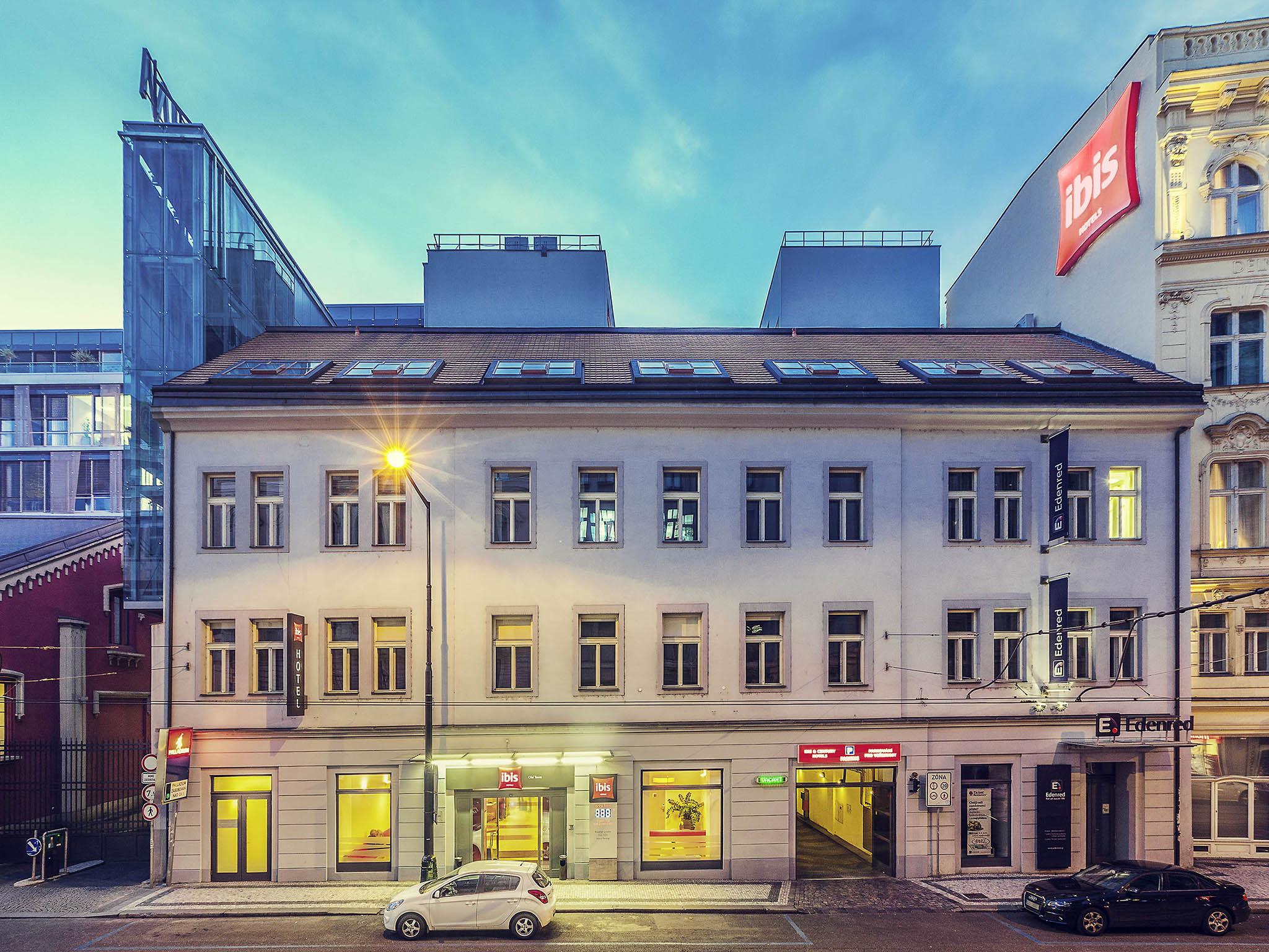 Отель — ibis Прага Старый город