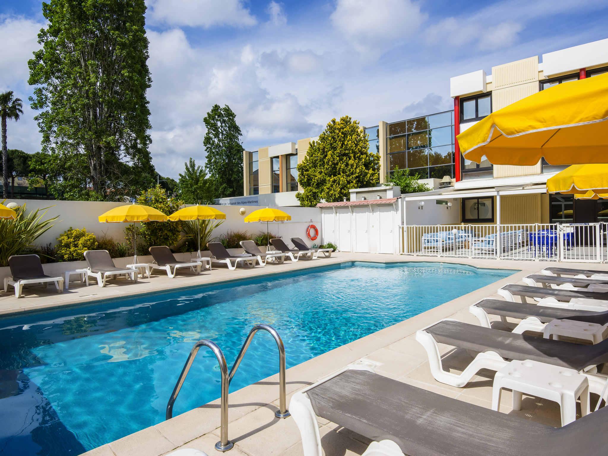 โรงแรม – HOTEL MERCURE NICE CAP 3000 (Futur Ibis Styles)