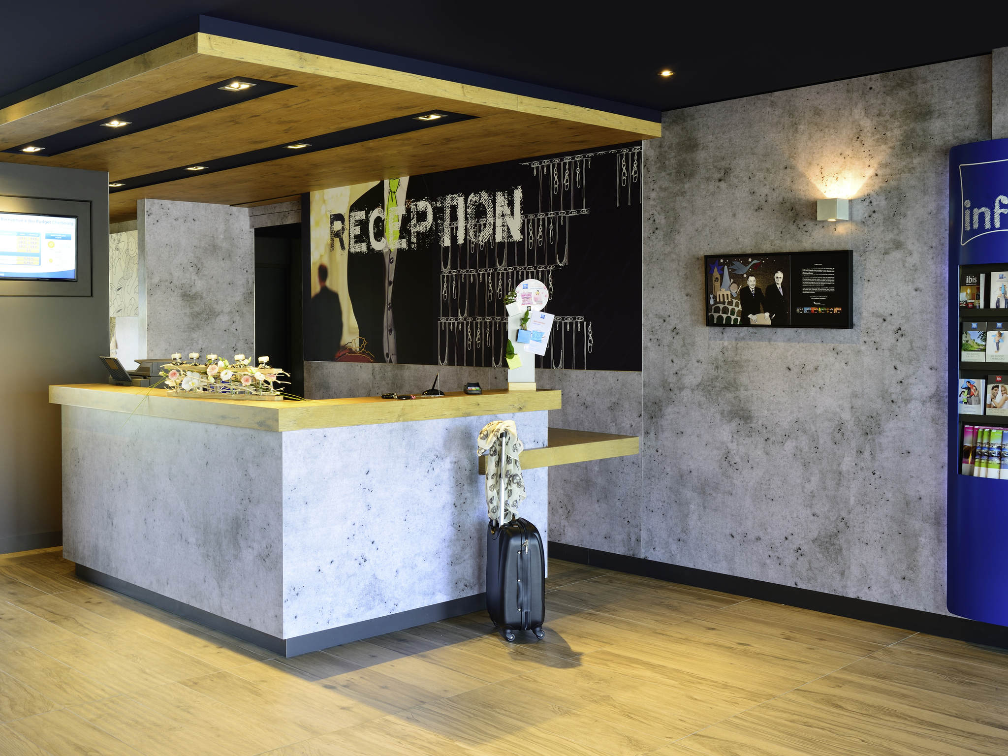 Hotel - ibis budget Cherbourg La Glacerie