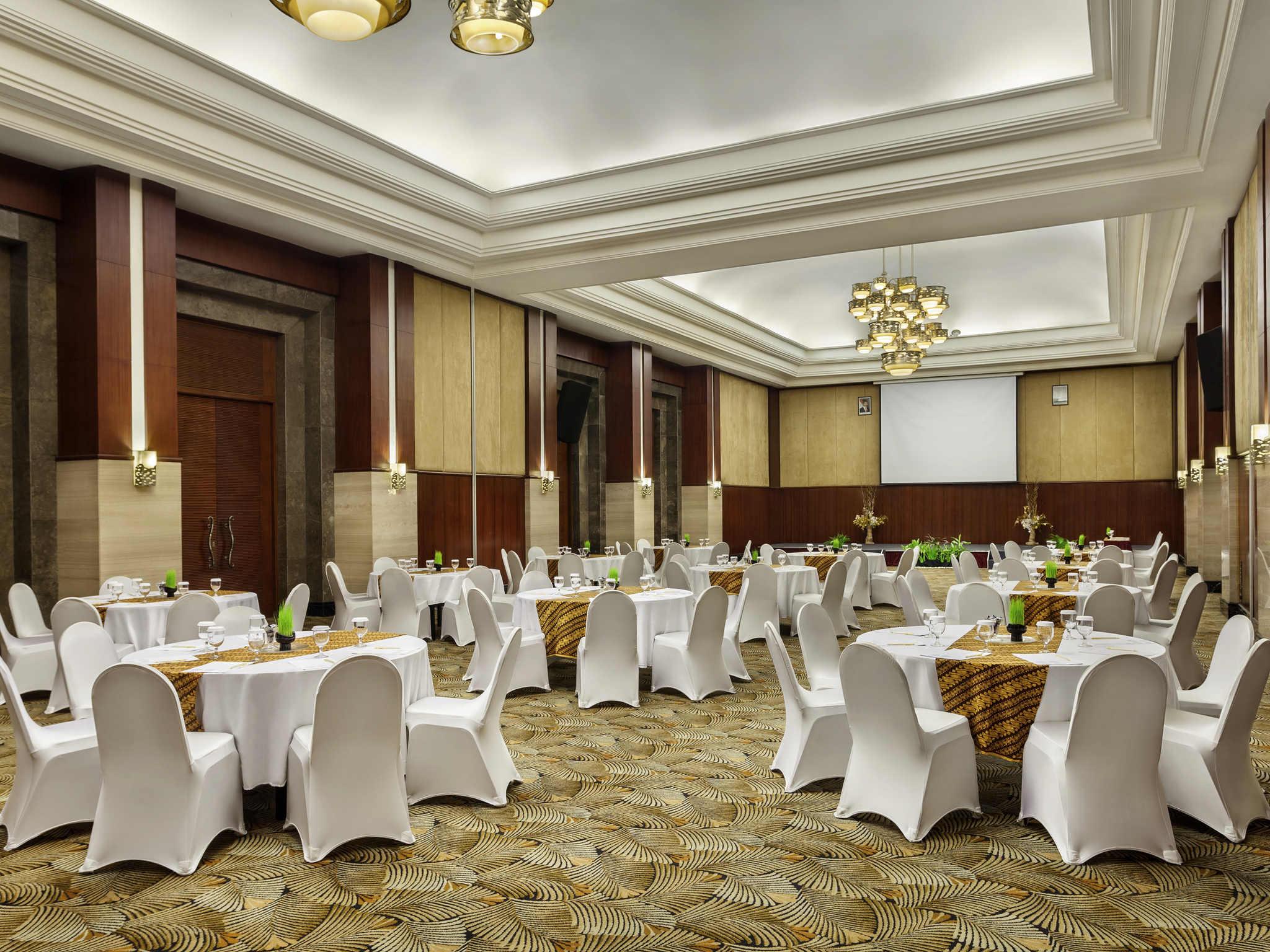 Hotel in semarang novotel semarang accorhotels meetings and events novotel semarang junglespirit Image collections