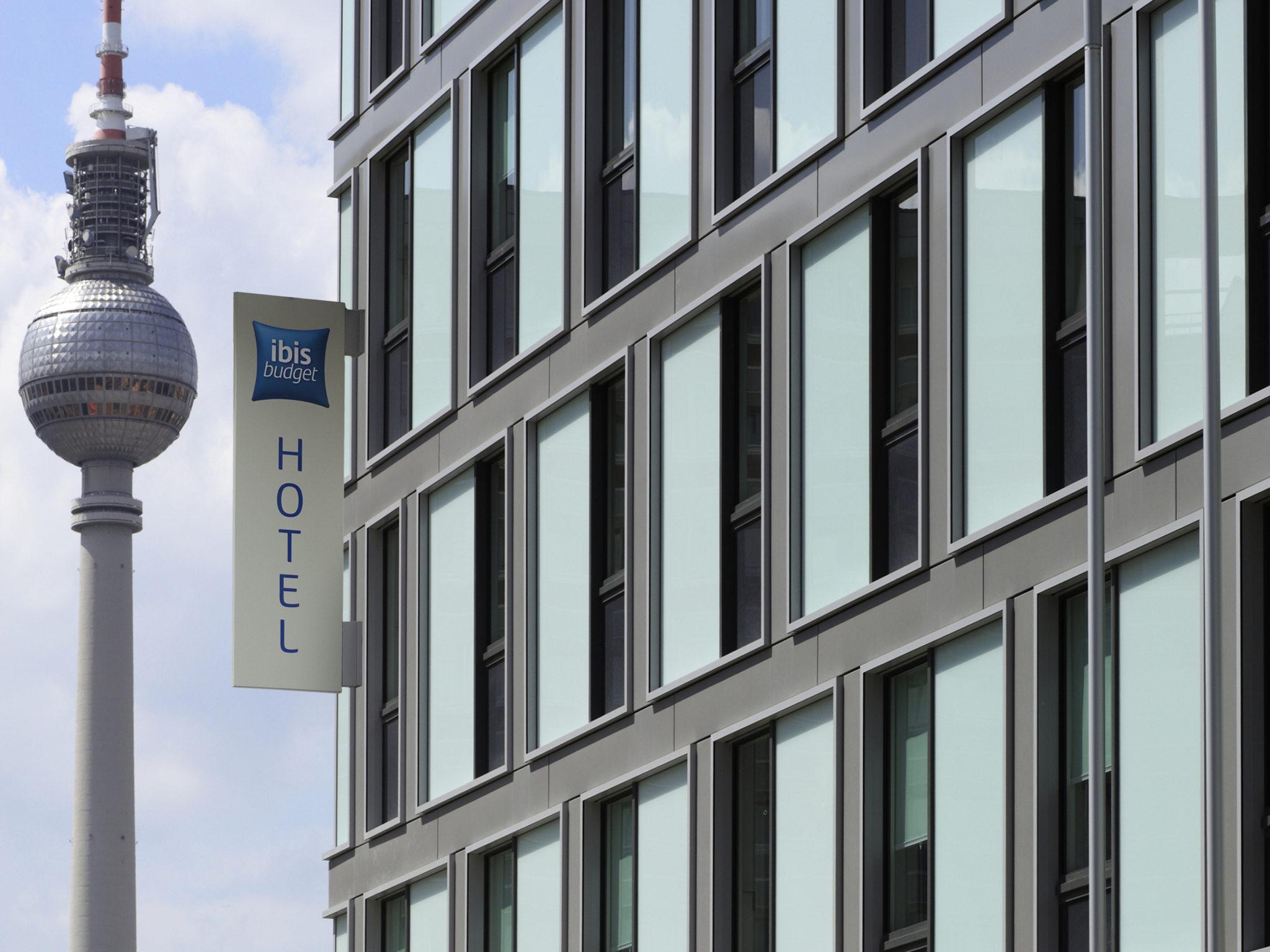 Отель — ibis budget Берлин Александрплац