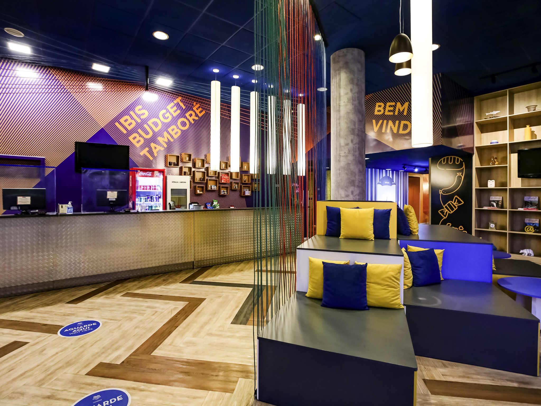 Отель — ibis budget Tambore