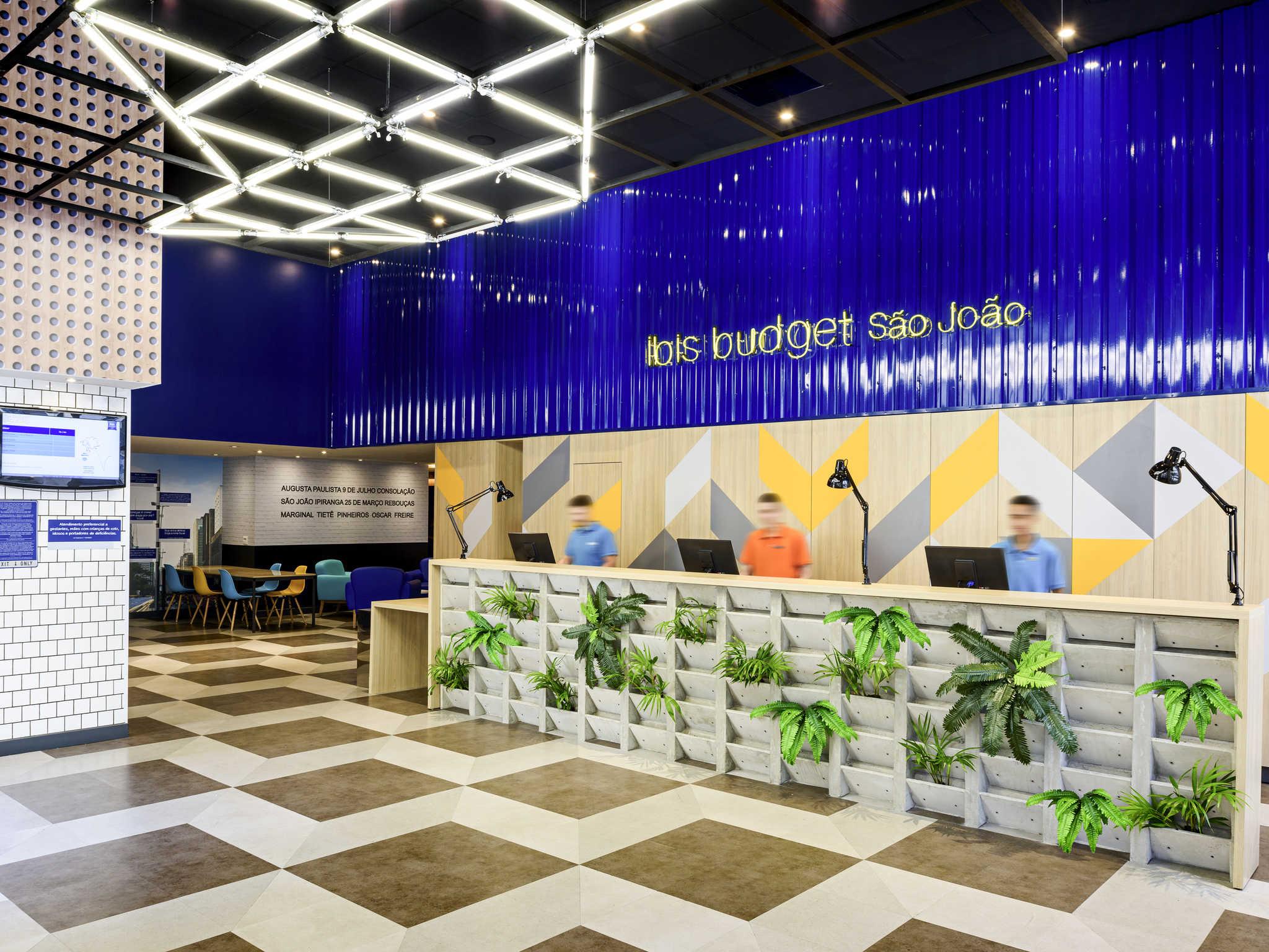 Отель — ibis budget Сан-Паулу Сан-Жуан