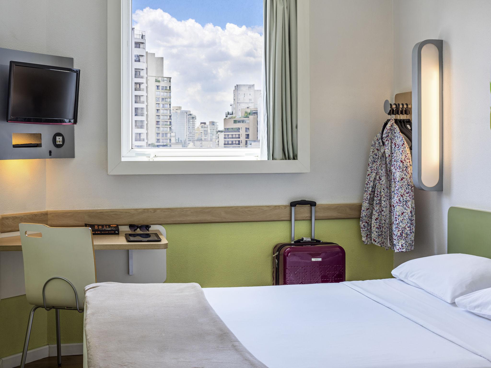 Hotel no jardins regi o nobre de s o paulo ibis budget for Design jardins