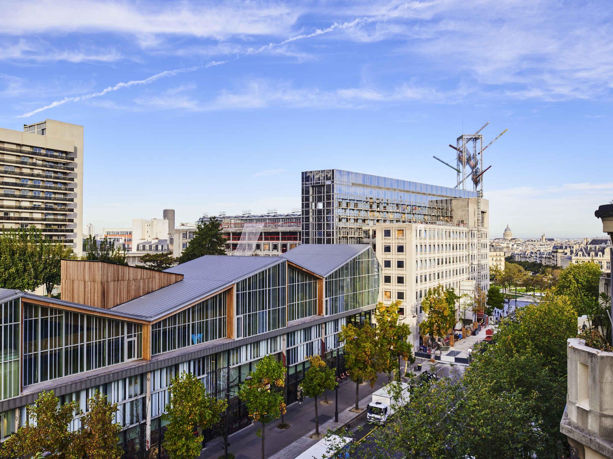 H tel paris ibis paris avenue d 39 italie 13 me - 13 avenue de la porte d italie ...