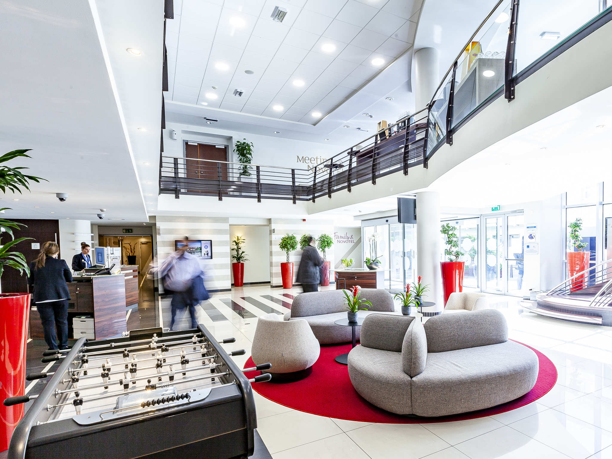 Hotell – Novotel Luxembourg Centre
