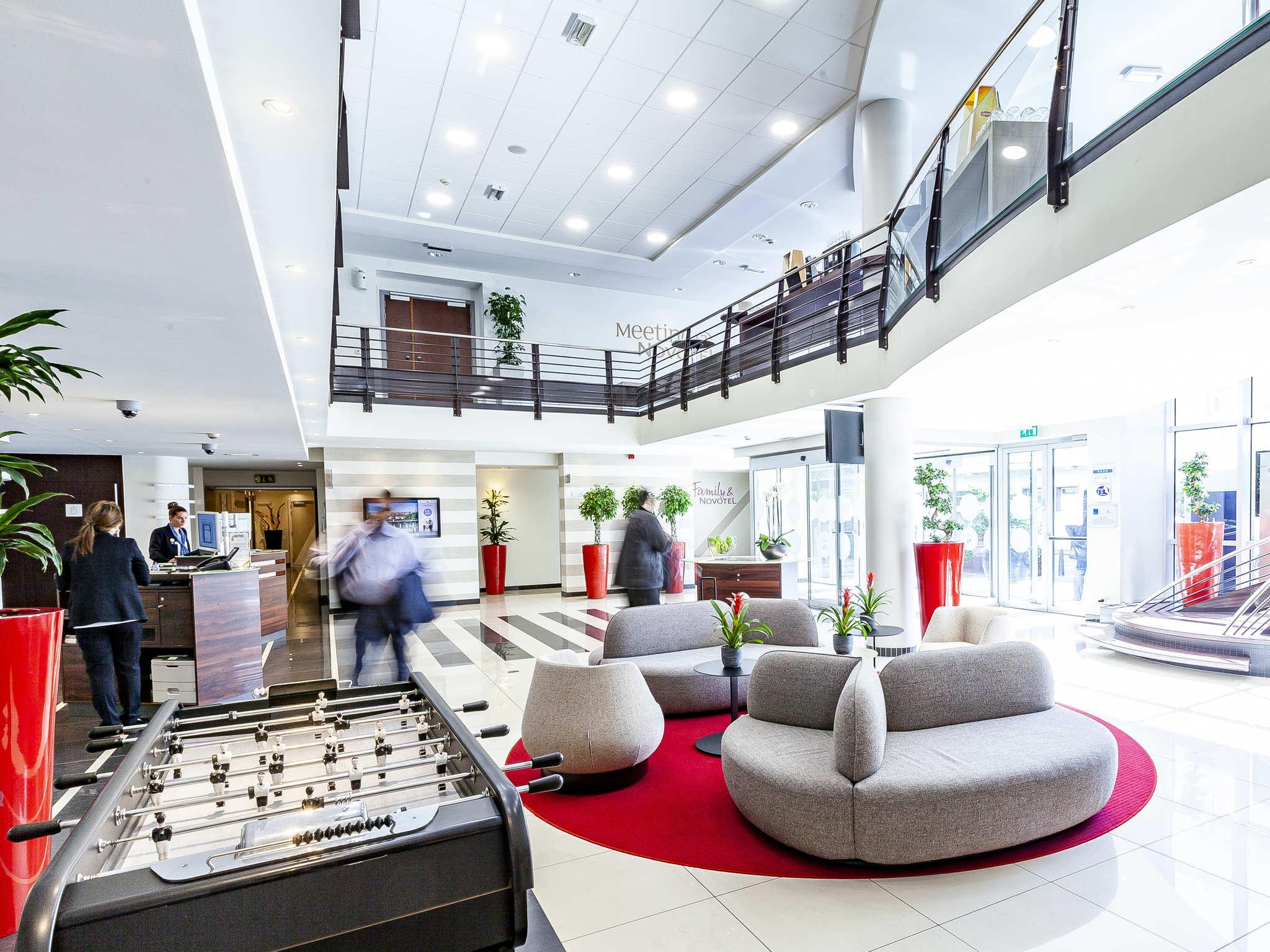 Отель — Novotel Люксембург Центр