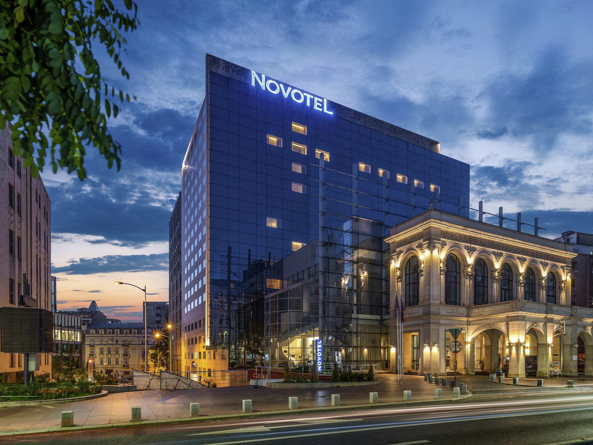 โรงแรม – Novotel Bucharest City Centre