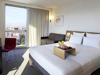 Rooms - Novotel Barcelona City