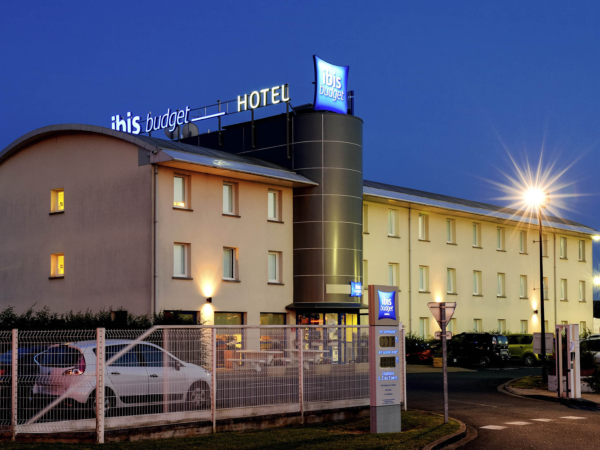 Отель — ibis budget Orléans Ouest Meung-sur-Loire