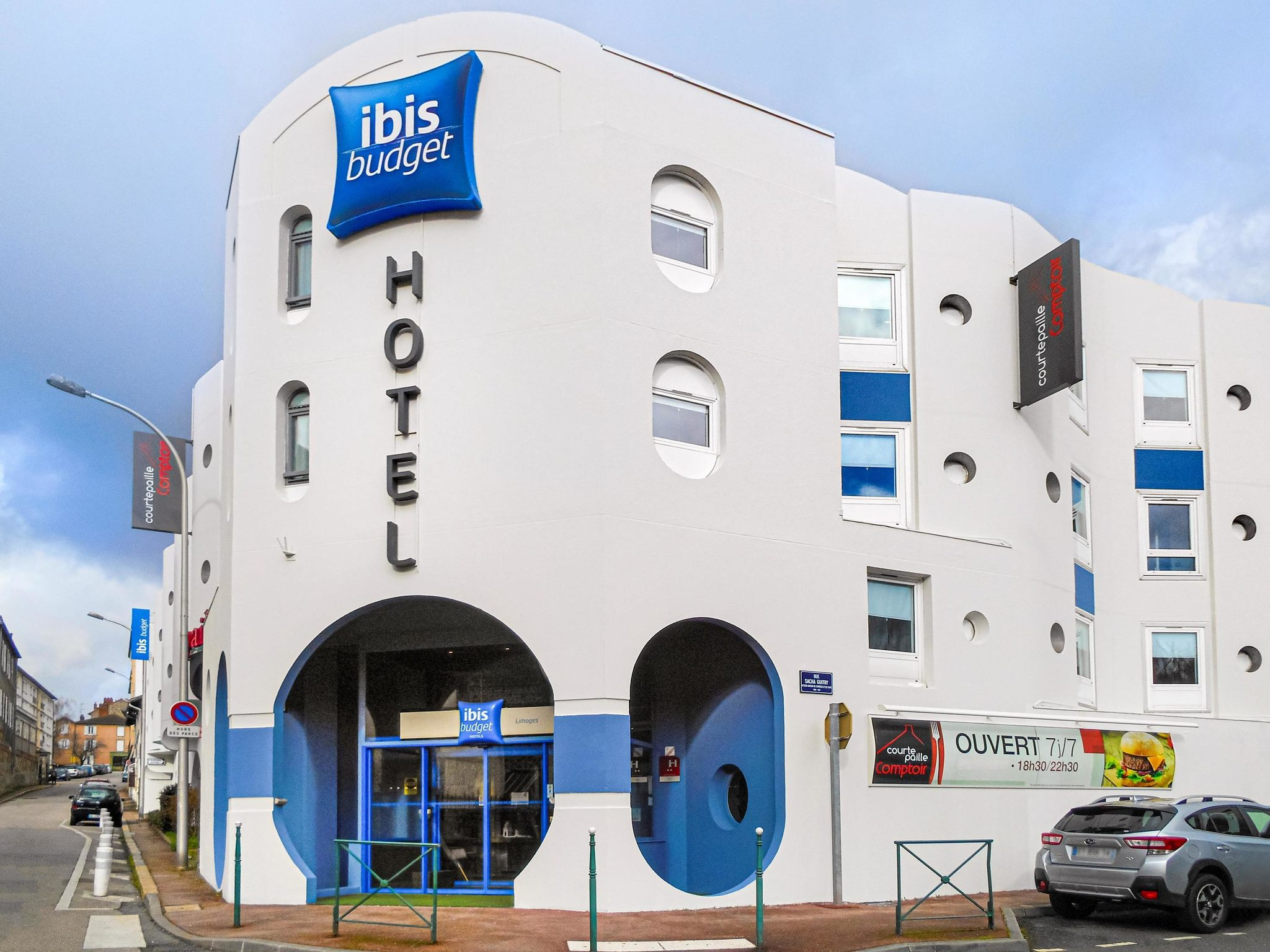Hotell – ibis budget Limoges
