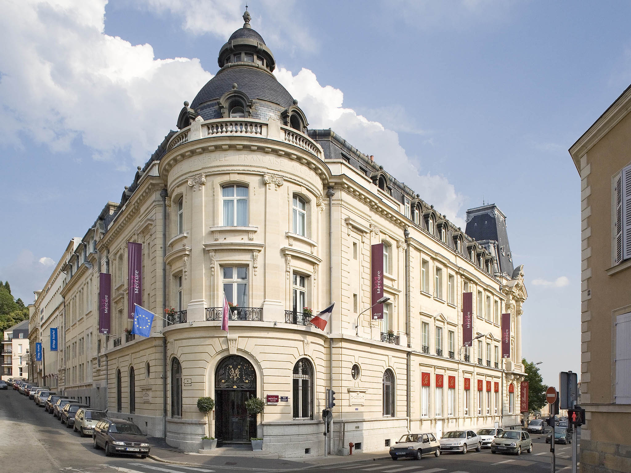Отель — Mercure Ле-Ман Центр