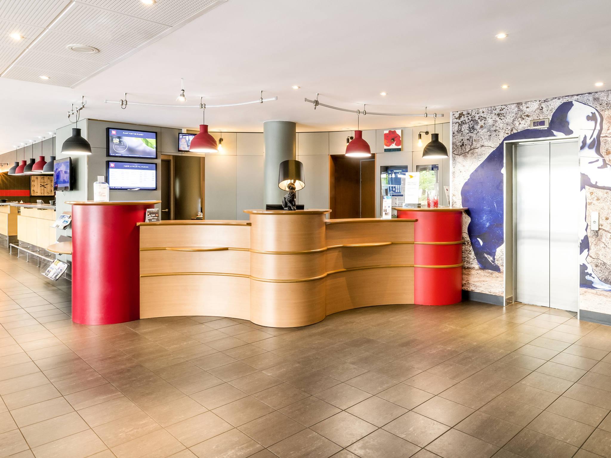 hotel in montevrain - ibis marne la vallée val d'europe