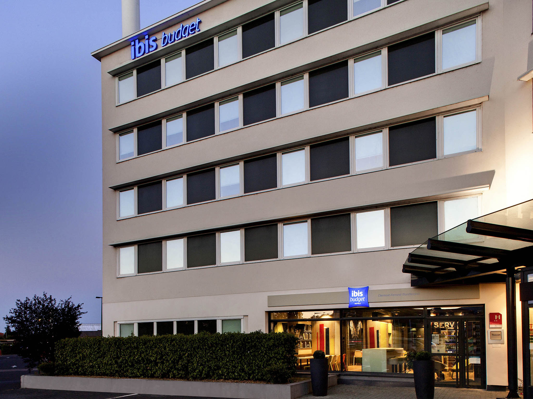 Отель — ibis budget Клермон-Ферран Центр Монферран