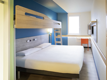 Rooms - ibis budget Geneve