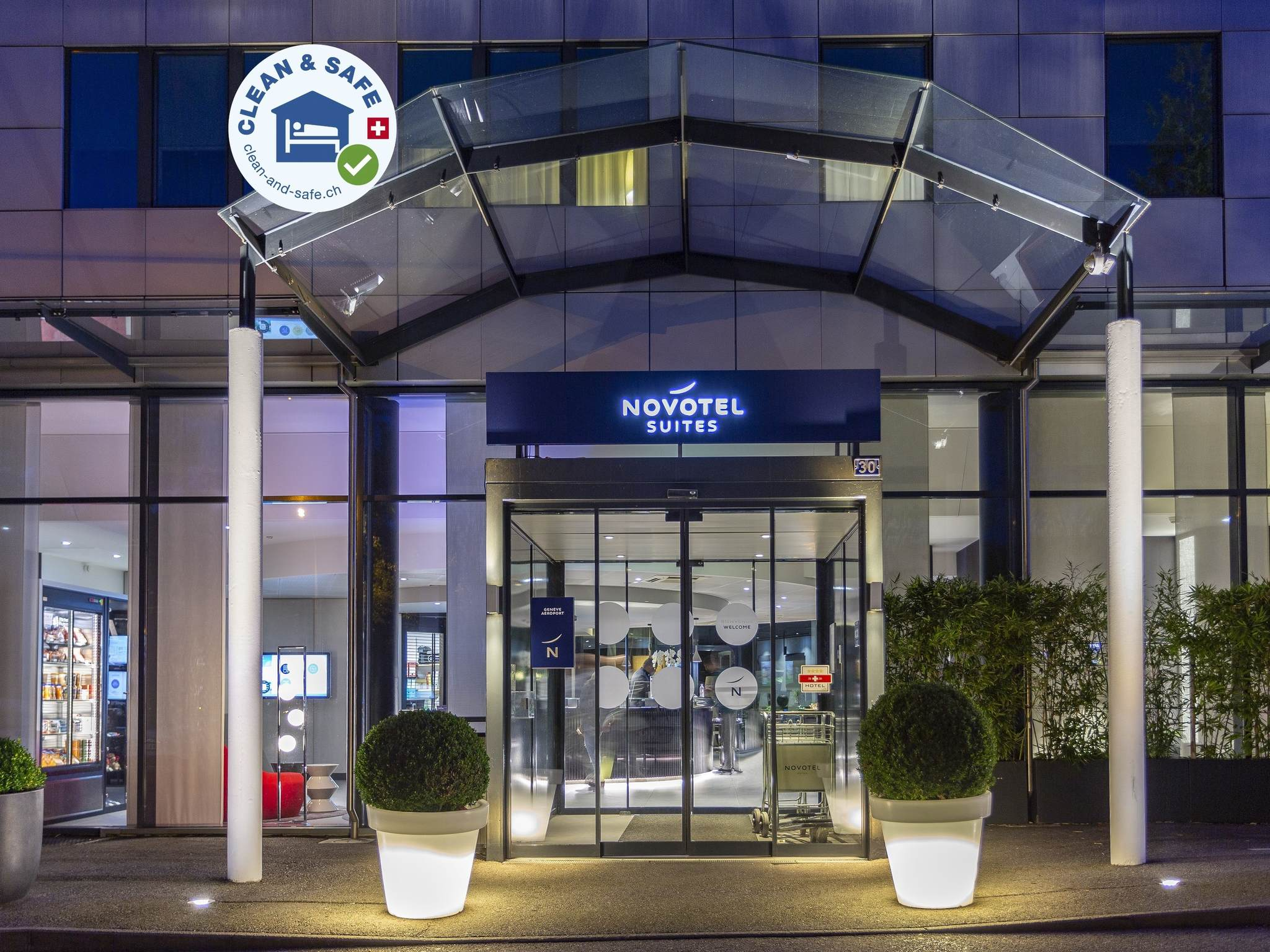 Otel – Novotel Suites Geneve Aeroport
