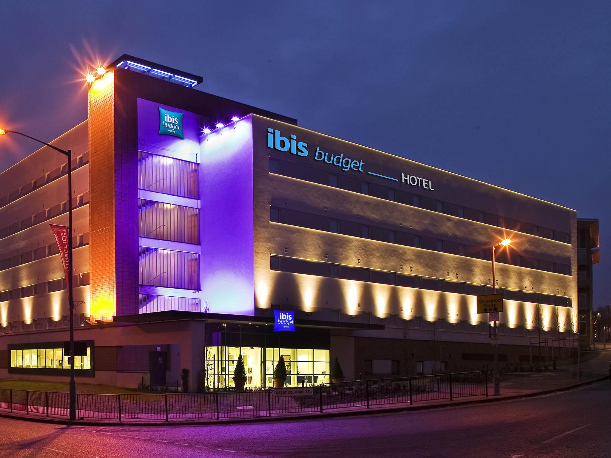 Отель — ibis budget Бирмингем Центр