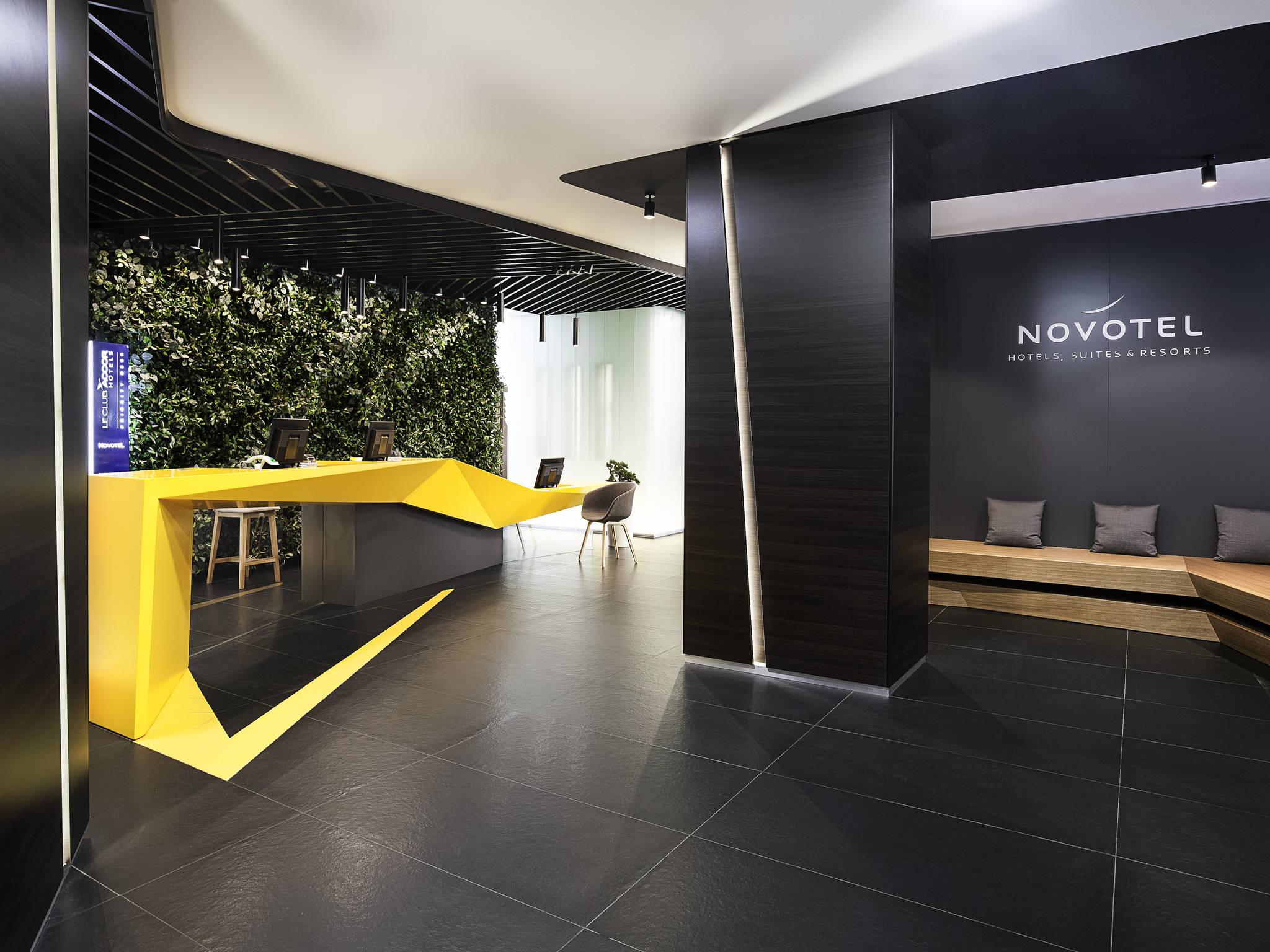 Hotell – Novotel Saint Petersburg Centre