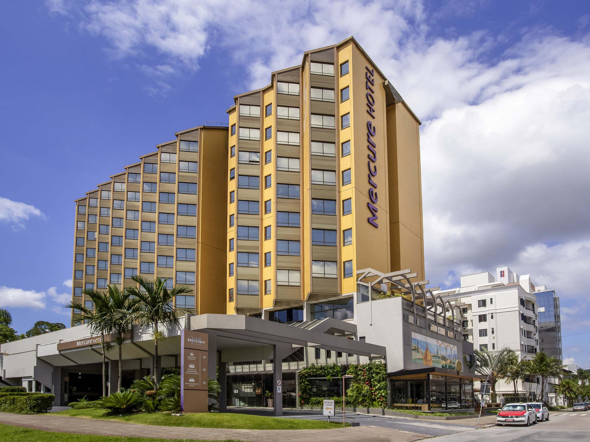 酒店 – 弗洛里亚诺波利斯会议中心美居酒店