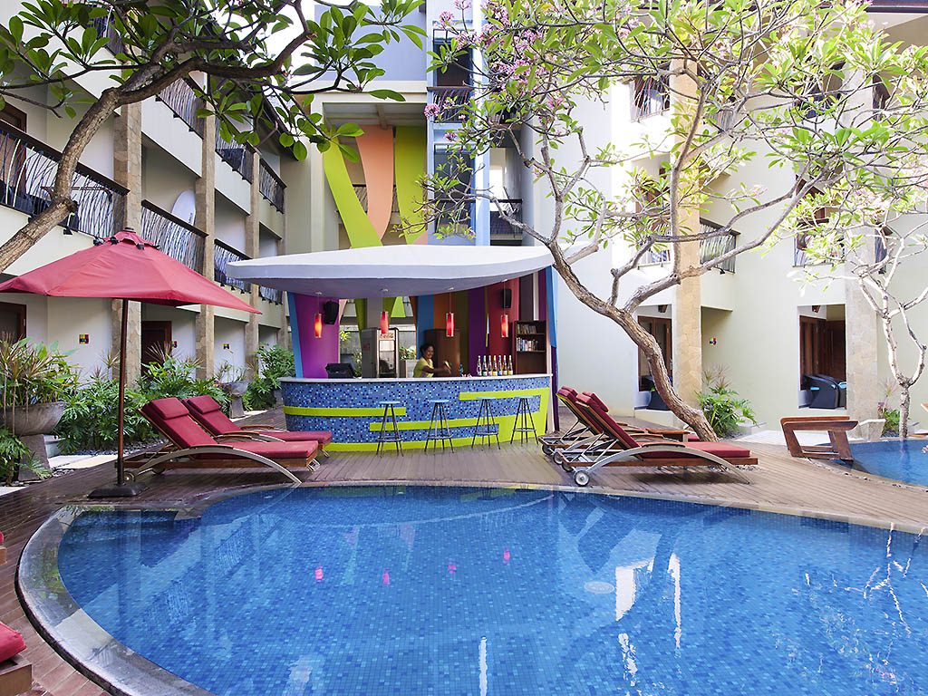 Carte Bali Legian.Ibis Styles Bali Legian Hotel Contemporary Colorful Hotel
