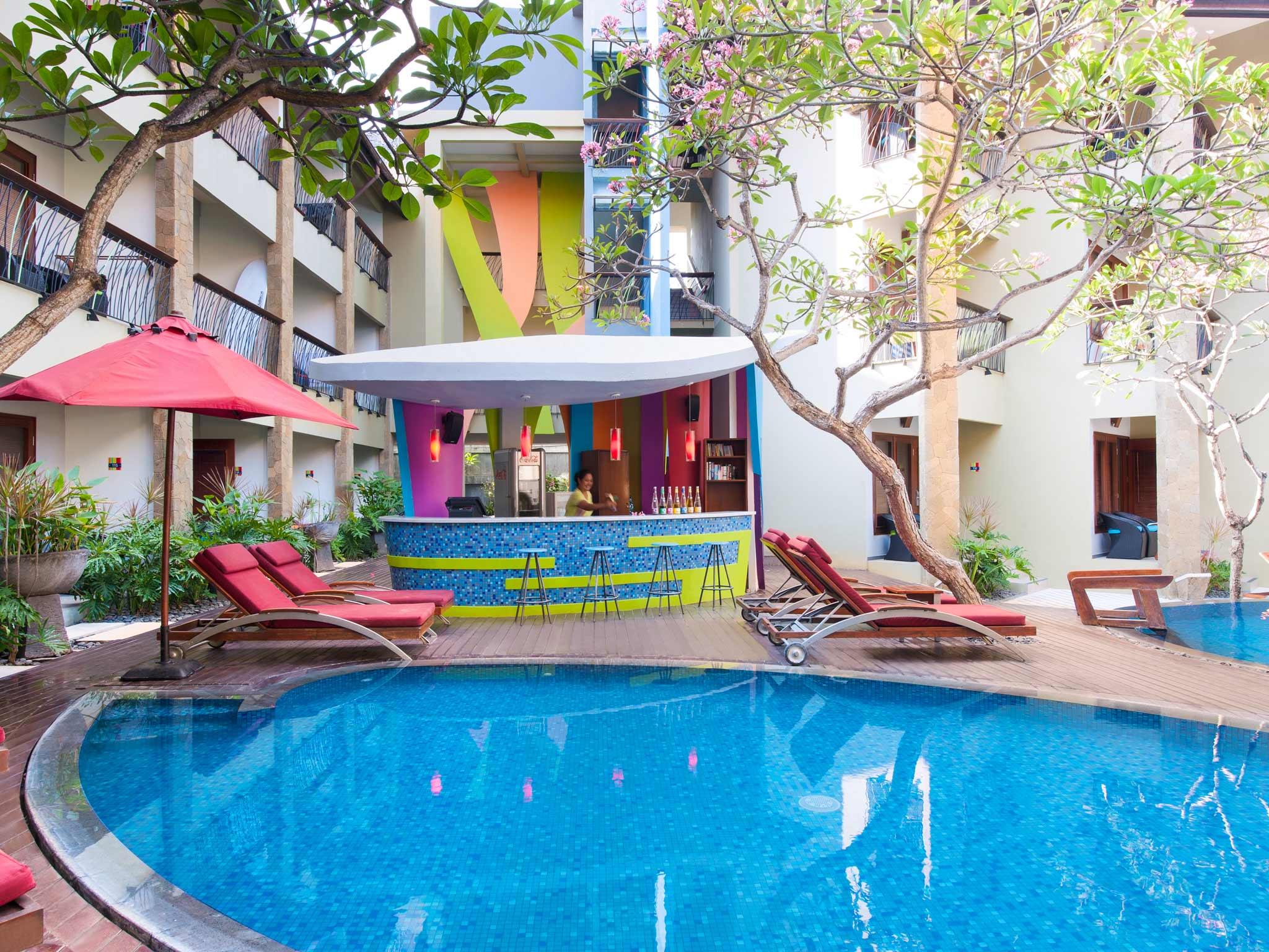 โรงแรม – ออลซีซั่นส์ บาหลี ลีเจียน (จะเปลี่ยนเป็นไอบิส สไตล์ เร็วๆ นี้)