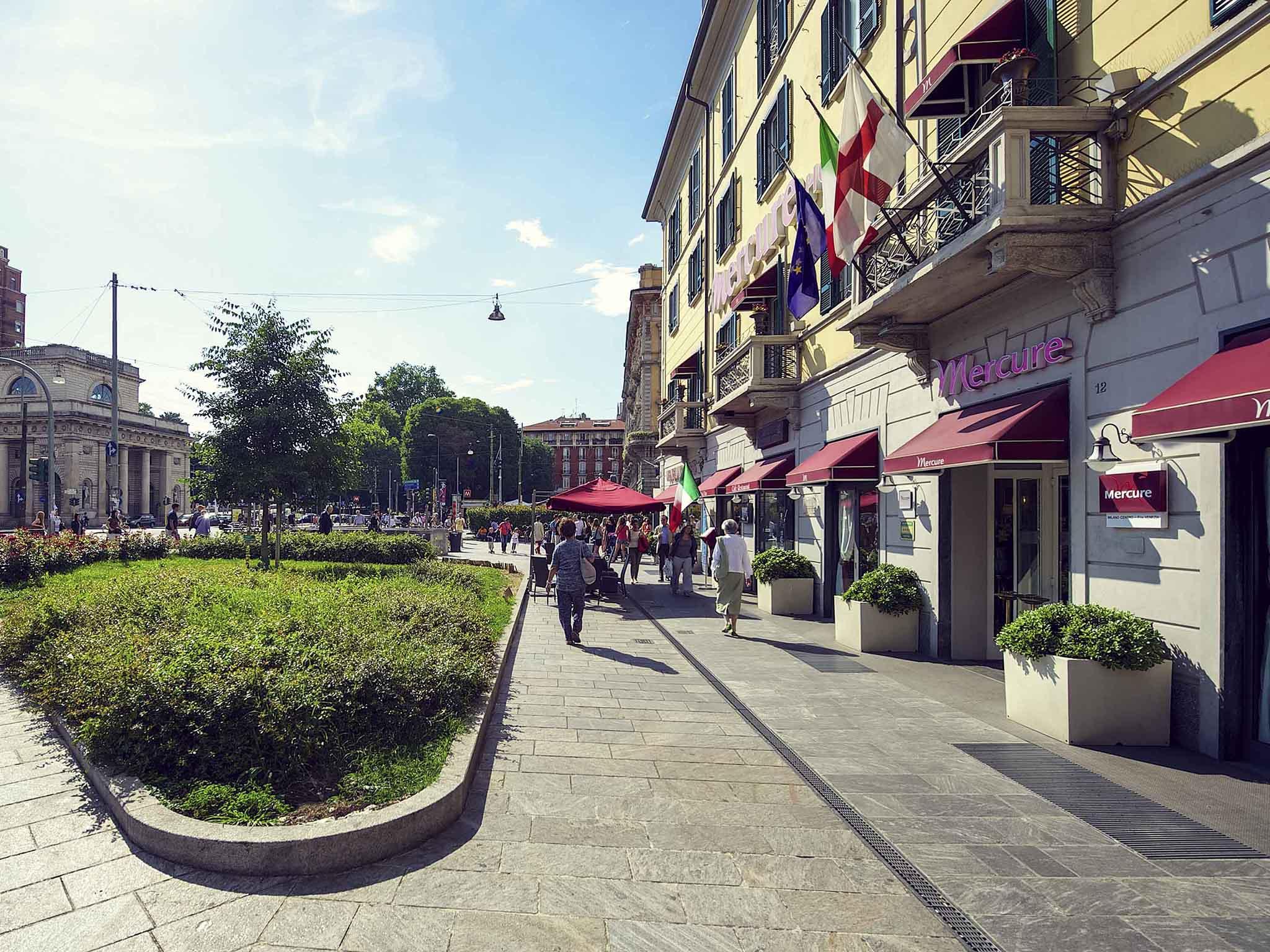 โรงแรม – Mercure Milano Centro