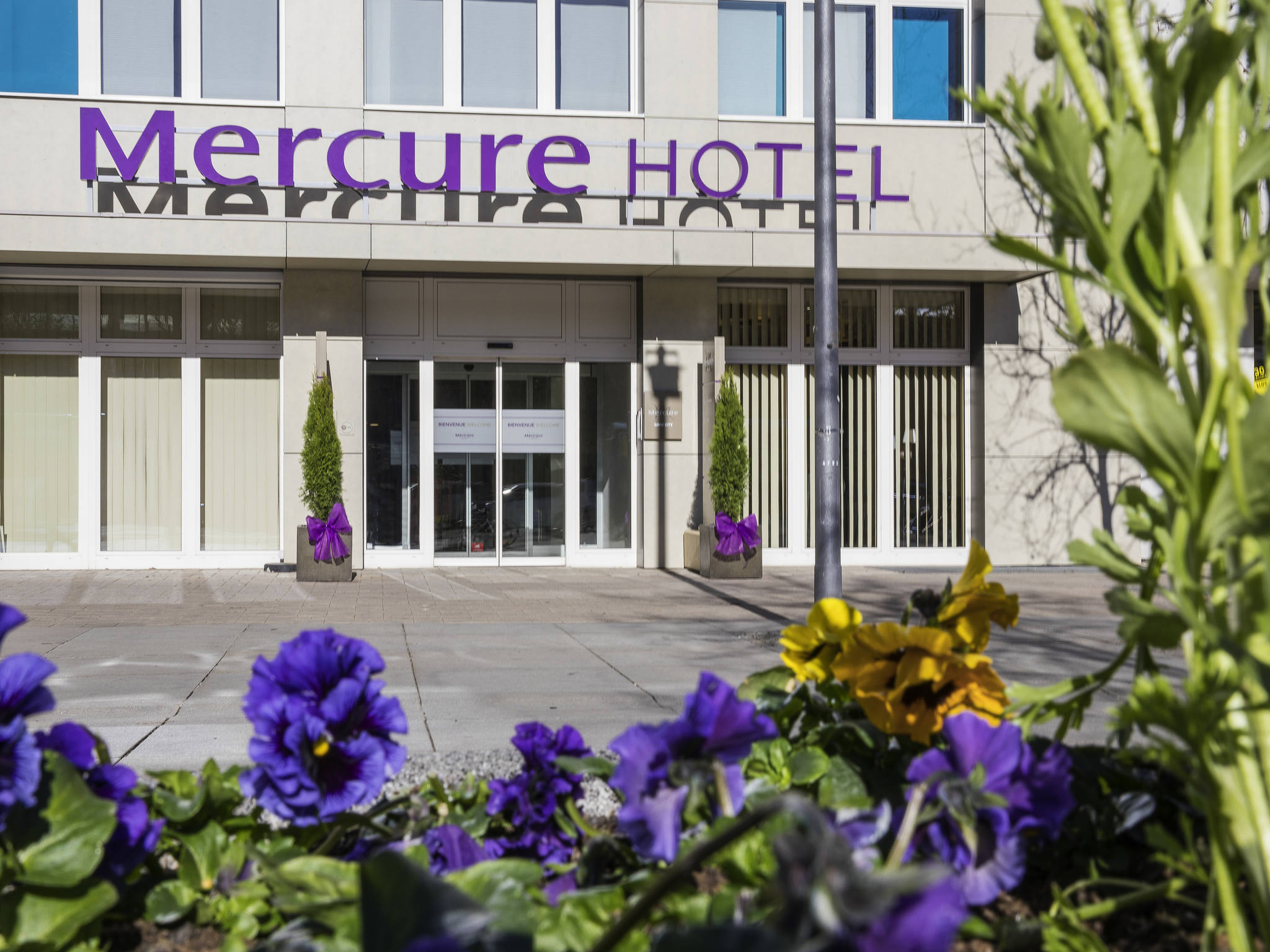 โรงแรม – Hotel Mercure Graz City