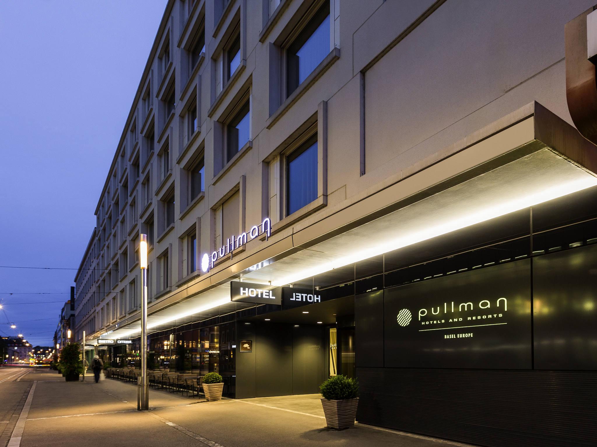 โรงแรม – Pullman Basel Europe