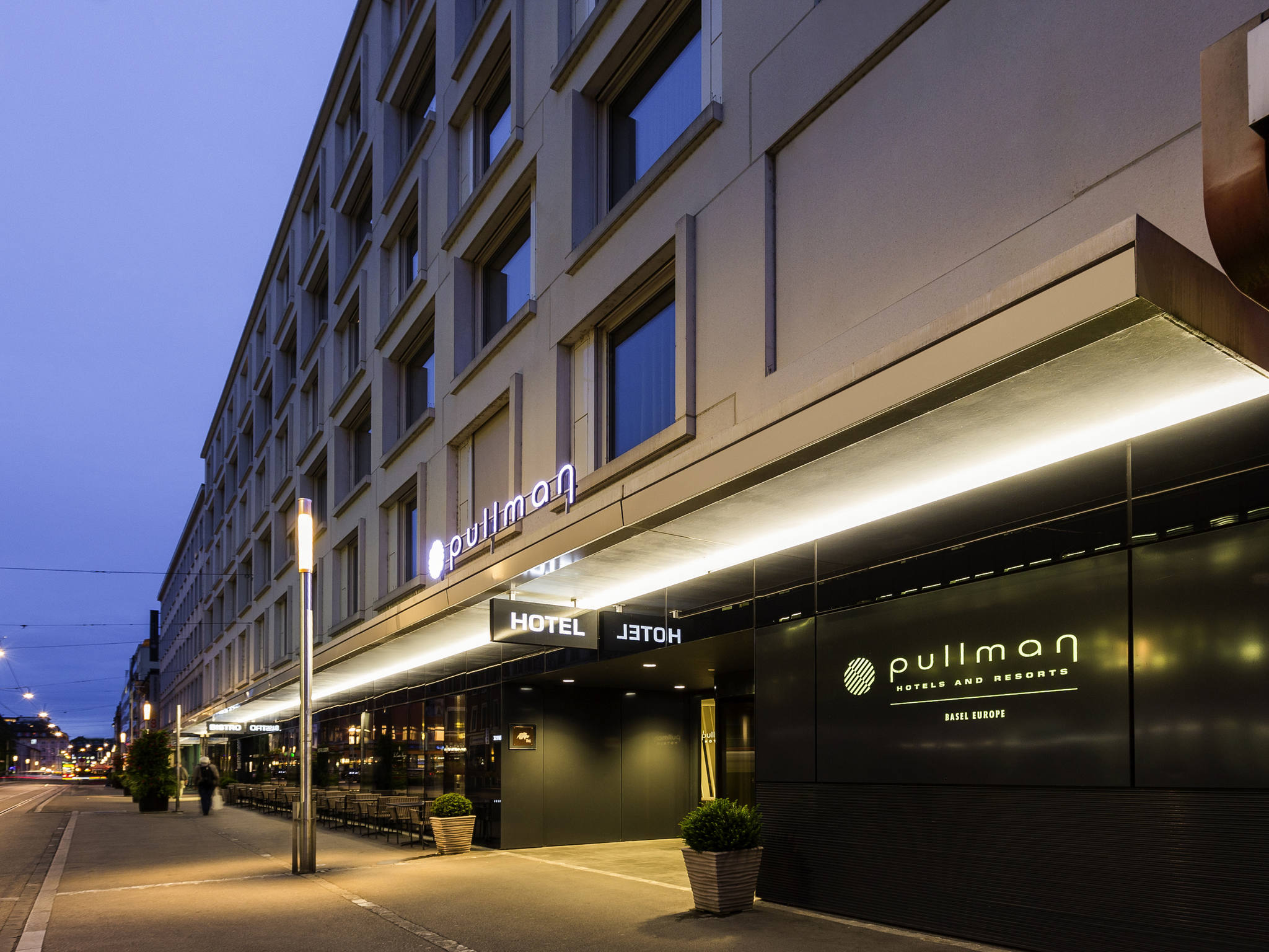 Hotell – Pullman Basel Europe