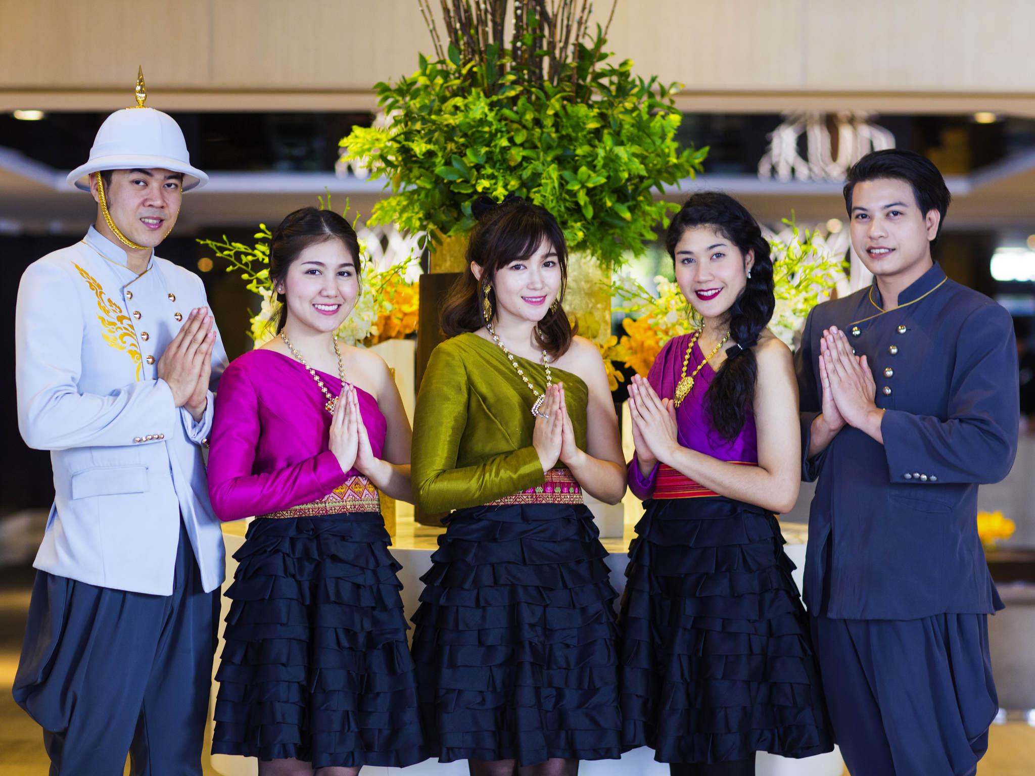 Отель — Grand Mercure Бангкок Форчу н
